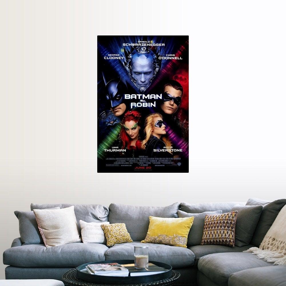 Shop Batman And Robin 1997 Poster Print Overstock 24135329