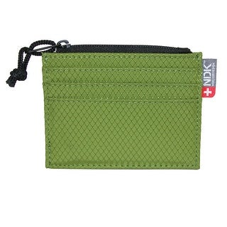 NDK Men's RFID Protected Card Case Wallet with Coin Pocket - One size