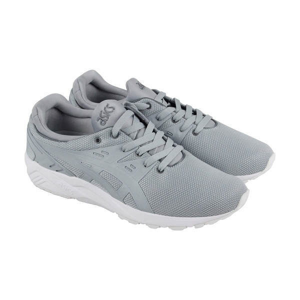 f4c968149 Shop Asics Gel Kayano Trainer Evo Mens Gray Mesh Athletic Lace Up Training  Shoes - Free Shipping On Orders Over  45 - Overstock - 20672464