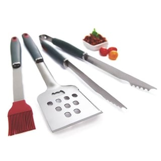 Grill Pro 40025 Resin Handle Barbecue Tool Set, 3 Piece