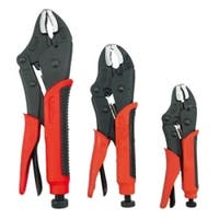 Comfort-Grip Locking Pliers Set, 3 Piece
