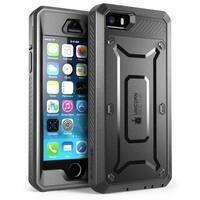 iPhone SE Case, SUPCASE,Unicorn Beetle PRO Series , iphone SE case, iphone SE, Protective Case-Black/Black