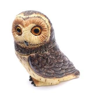 Owl Pot Bellys Box - Short Ear Owl
