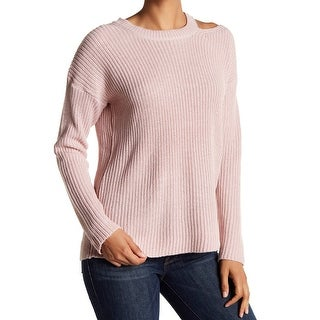 RDI Womens Medium Pullover Cutout Crewneck Sweater