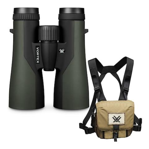 Vortex 12x50 Crossfire HD Roof Prism Binoculars with GlassPak Harness Case