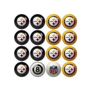 NFL Pittsburgh Steelers Home vs. Away Team Billiard Pool Ball Set