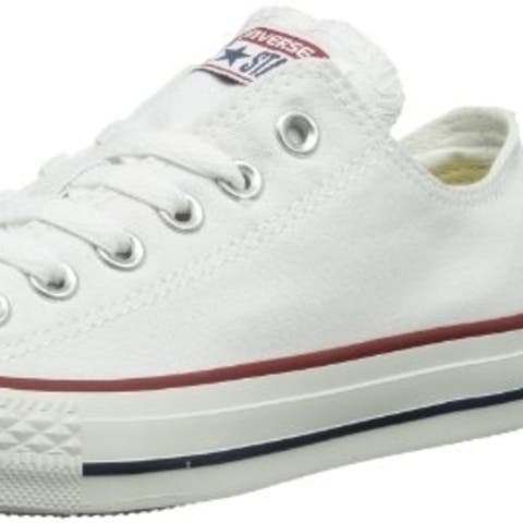 Converse Chuck Taylor All Star Ox Ankle-High Fabric Fashion Sneaker - OPTICAL WHITE