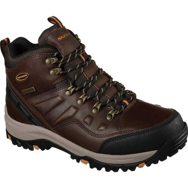 adf53ce9cc0 Shop Skechers Men's Relaxed Fit Relment Traven Hiking Boot Dark ...
