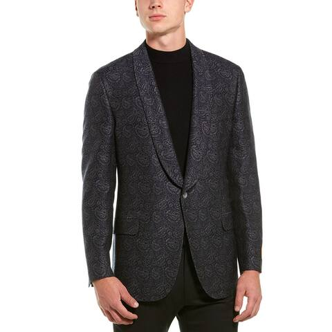 Hickey Freeman Shawl Tuxedo Wool & Silk-Blend Jacket