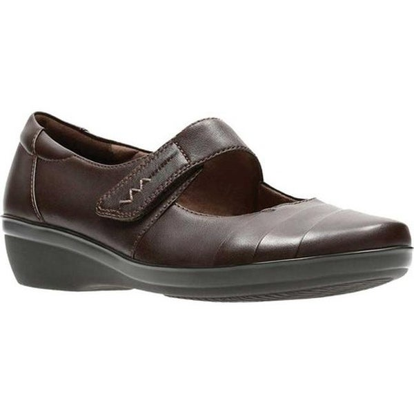 Everlay Kennon Mary Jane Brown Leather