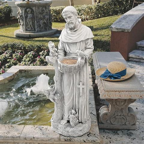 Large Natures Nurturer St Francis Statue