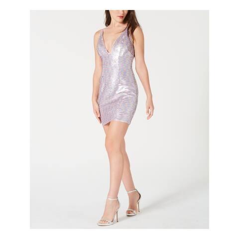 AIDAN MATTOX Pink Sleeveless Mini Dress 14