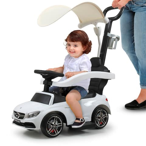 Electric small Mercedes children's car with tent - 8' x 11'