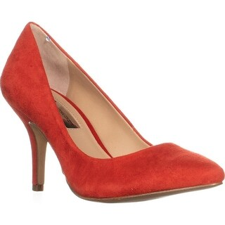 I35 Zitah Classic Pointed Toe Pump Heels, Spring Red
