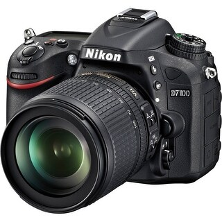Nikon D7100 DSLR Camera with 18-105mm Lens (International Model) 1515IV