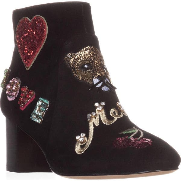 9687793b7c91e Shop Kate Spade New York Liverpool Ankle Boots, Black Suede - Free ...