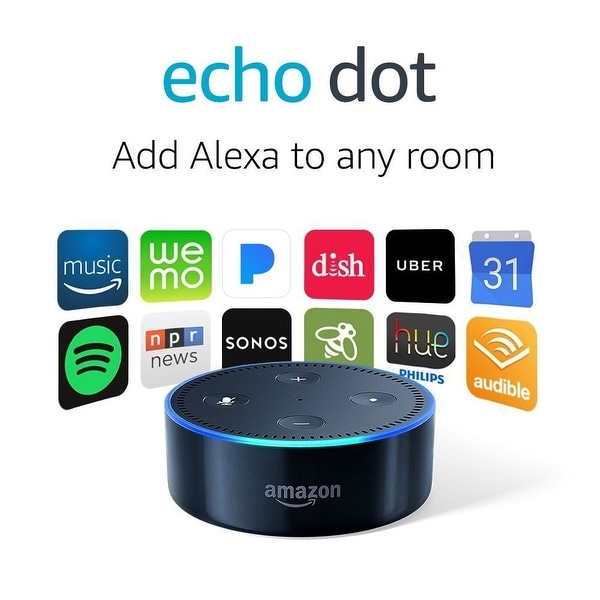 Amazon Fulfillment Services - Echo Dot - Black 2 Pack