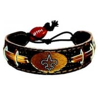 New Orleans Saints Team Color Football Bracelet