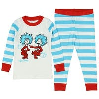 Intimo Boys' Dr. Suess Thing 1 Thing 2 Pajamas
