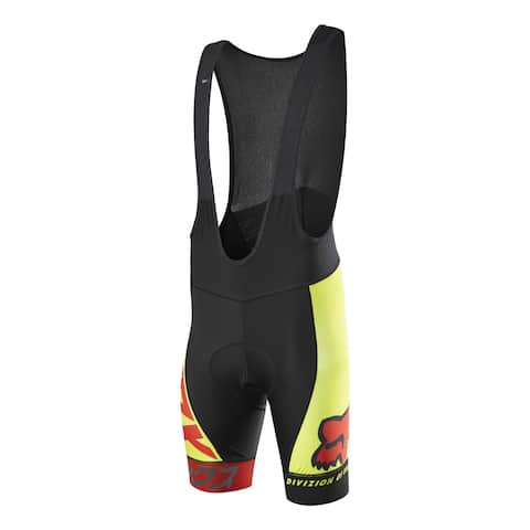 Fox Racing 2016 Men's Ascent Pro Cycling Bib Short - 15187 - Red