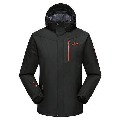 Men Waterproof Sport Jacket Hooded Coat