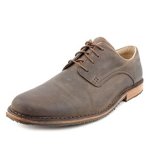 Sebago Salem Men  Round Toe Leather Brown Oxford