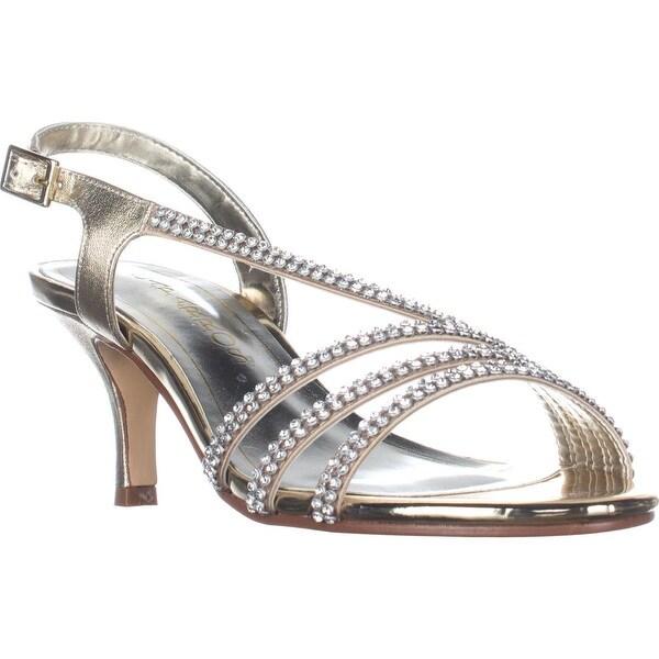 Caparros Bethany Slingback Dress Sandals, Gold