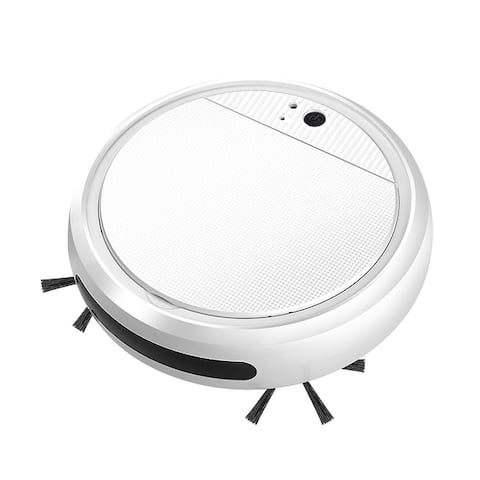 4-in-1 Smart Rechargeable Auto Sweeping Robot Vacuum Cleaner 3200PA Strong Suction USB Charging Cordless Cleaning Robot