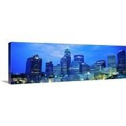 Premium Thick-Wrap Canvas entitled Charlotte NC