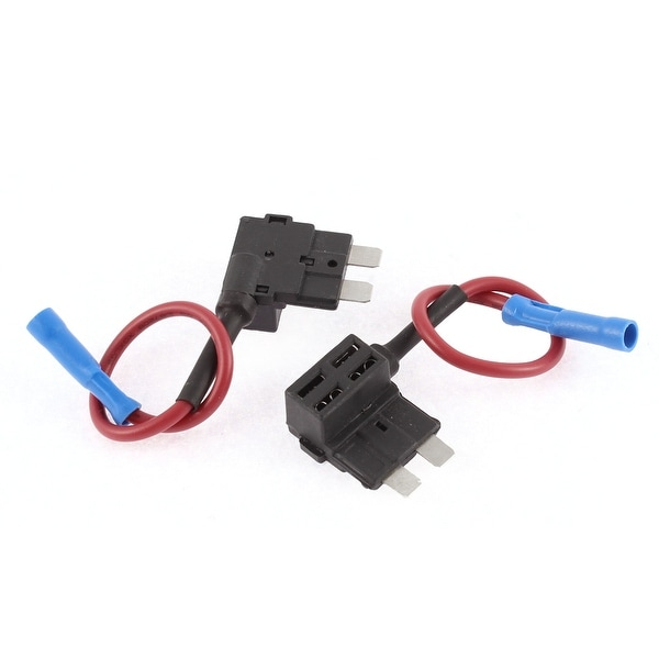 Auto Car Add A Circuit TAP Adapter Micro Blade Fuse Holder 32V 2 Pcs auto car add a circuit tap adapter micro blade fuse holder 32v 2 pcs