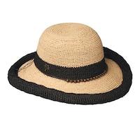 5f5d36310ea Shop Sun N  Sand Women s Wide Brimmed Hat - Red Floral Applique on ...