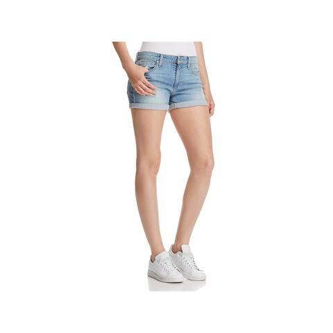 Joe's Jeans Womens Gene Geneva Denim Shorts Distressed Daytime