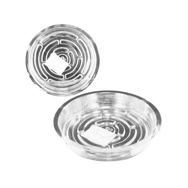 Bulk Buys HB869-72 Transparent Planter Saucer
