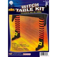 Witch Leg Table Halloween Décor Kit