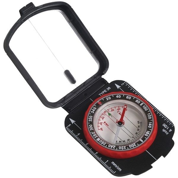 Stansport 553 Multifunction Compass With Mirrored Cover