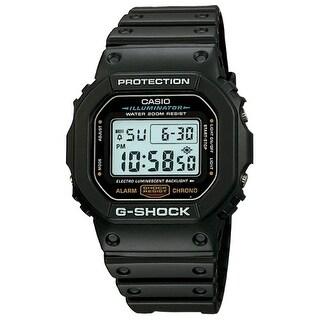 """""""Casio DW5600E-1V Casio G-SHOCK DW5600E-1V Wrist Watch - Men - Sports Chronograph - Digital - Quartz"""""""