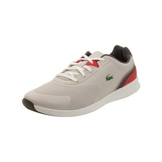 Lacoste Mens LTR.01 416 Sneakers in Light Grey