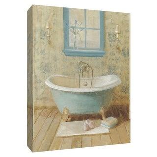 "PTM Images 9-154788  PTM Canvas Collection 10"" x 8"" - ""Victorian Bath I"" Giclee Bathroom Art Print on Canvas"