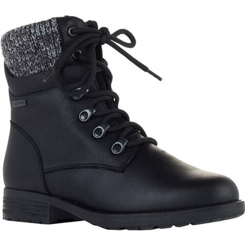 Cougar Women's Derry Ankle Boot Black Ranchero Leather