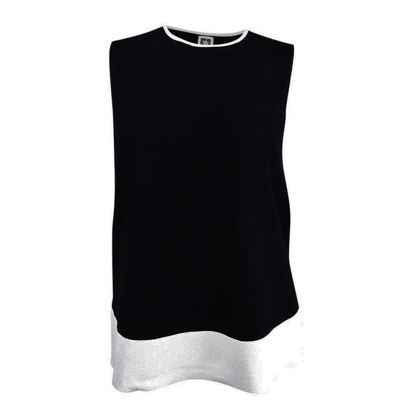 Shop Anne Klein Women S Plus Size Sleeveless Colorblocked