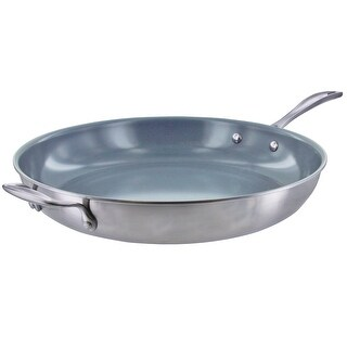 ZWILLING Spirit 3-ply Stainless Steel Ceramic Nonstick Fry Pan