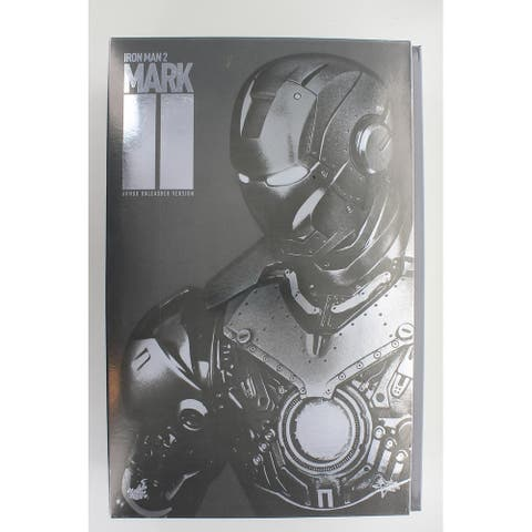 Iron Man Mark II Armor Unleashed Version 1:6 Scale Figure By Hot Toys - Damaged - Silver