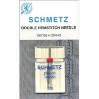Euro-Notions 75032 Double Hemstitch Needle -Size 100 1-Pkg