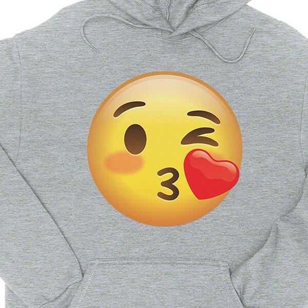Unisex Crew Kiss Pullover Sweater