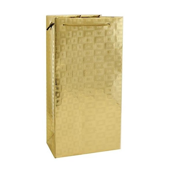 Shop Bella Vita M2GOLD Metallic Paper Bottle Bags ab8c7ee6348c