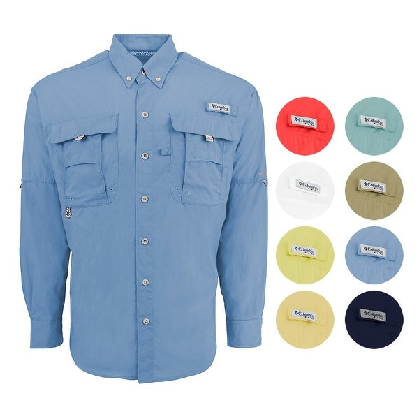 a39294a3e8f Shop Columbia Men s PFG Bahama II L S Shirt - Free Shipping On Orders Over   45 - Overstock.com - 24267485