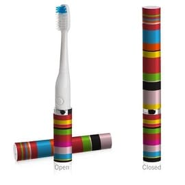 Slim Sonic Toothbrush, Candy Stripe, O/S