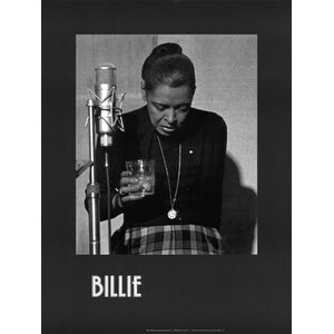 ''Billie Holiday, Last Recording Session'' by Milton J. Hinton Jazz Art Print (24 x 18 in.)