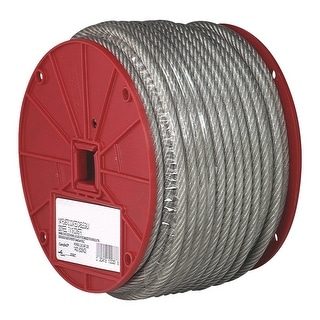 Campbell 200 1/4 7X19 Ctd Cable
