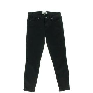 Paige Womens Denim Low-Rise Skinny Jeans